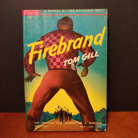 """Firebrand"", Tom Gill, popular library number 119, dated 1939"