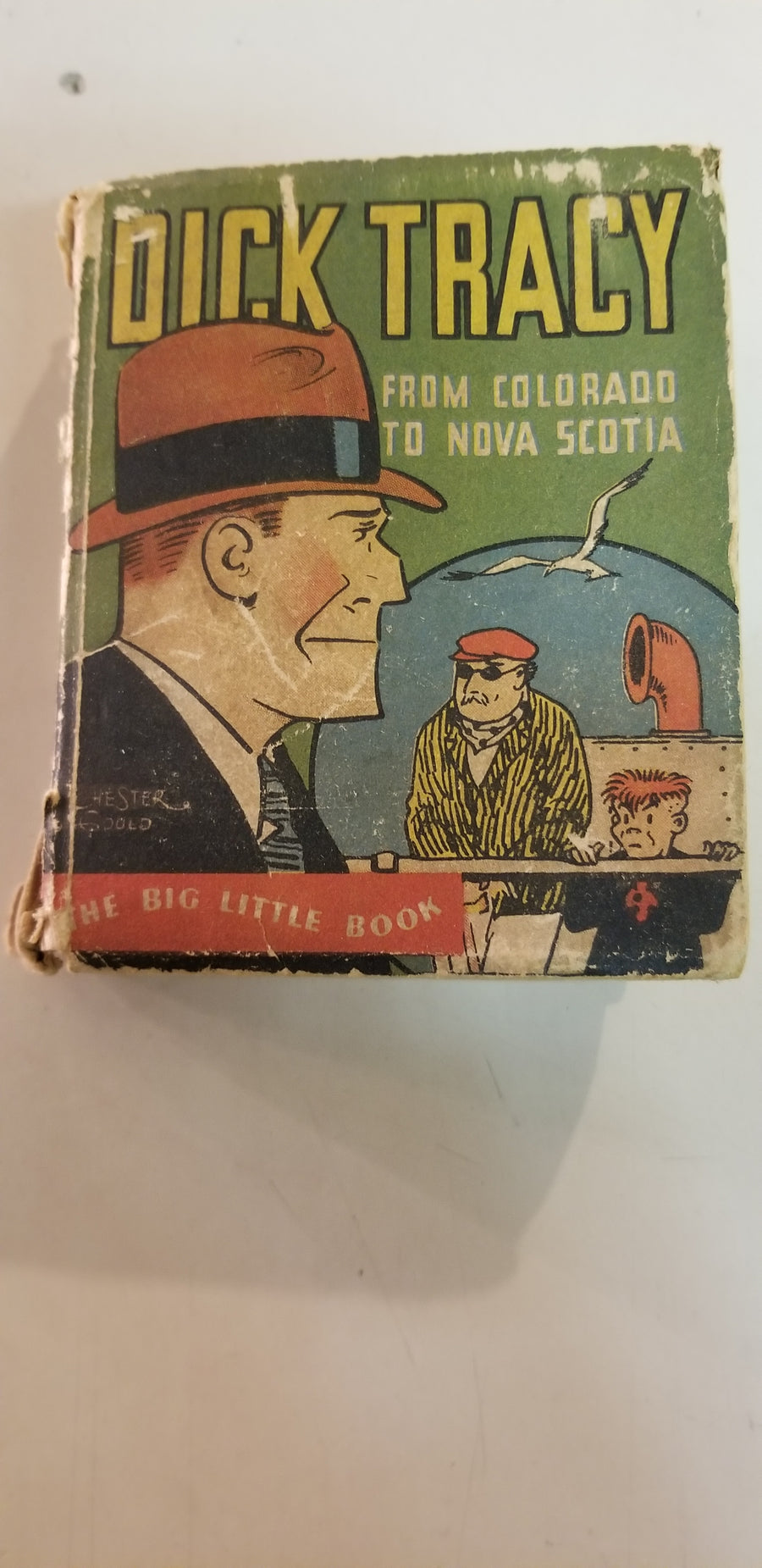 Dick tracy, from Colorado to nova scotia, LBB, 1933