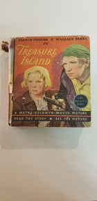 1934 Treasure island,  Jackie cooper, little big book.