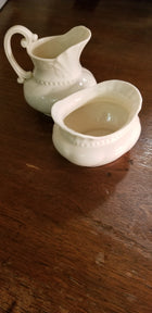 Lenox ivory colonial sugar and creamer