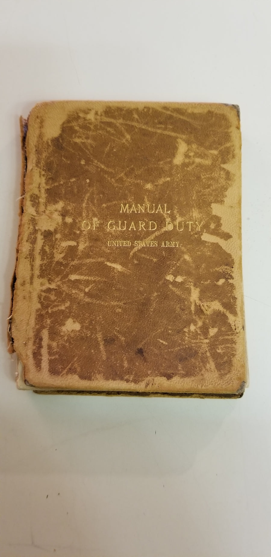 Manual of guard duty, 1893