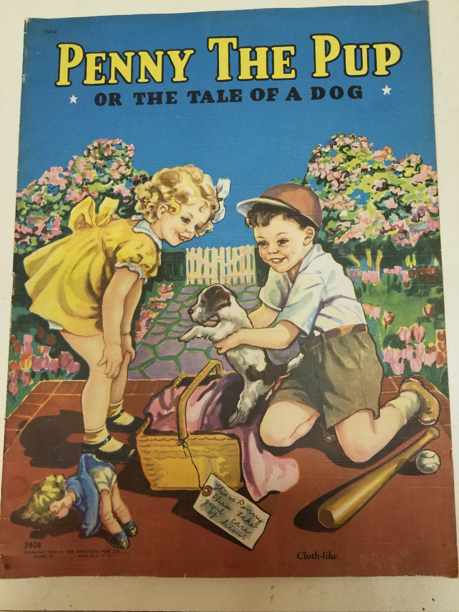 Penny the pup, 1942 book