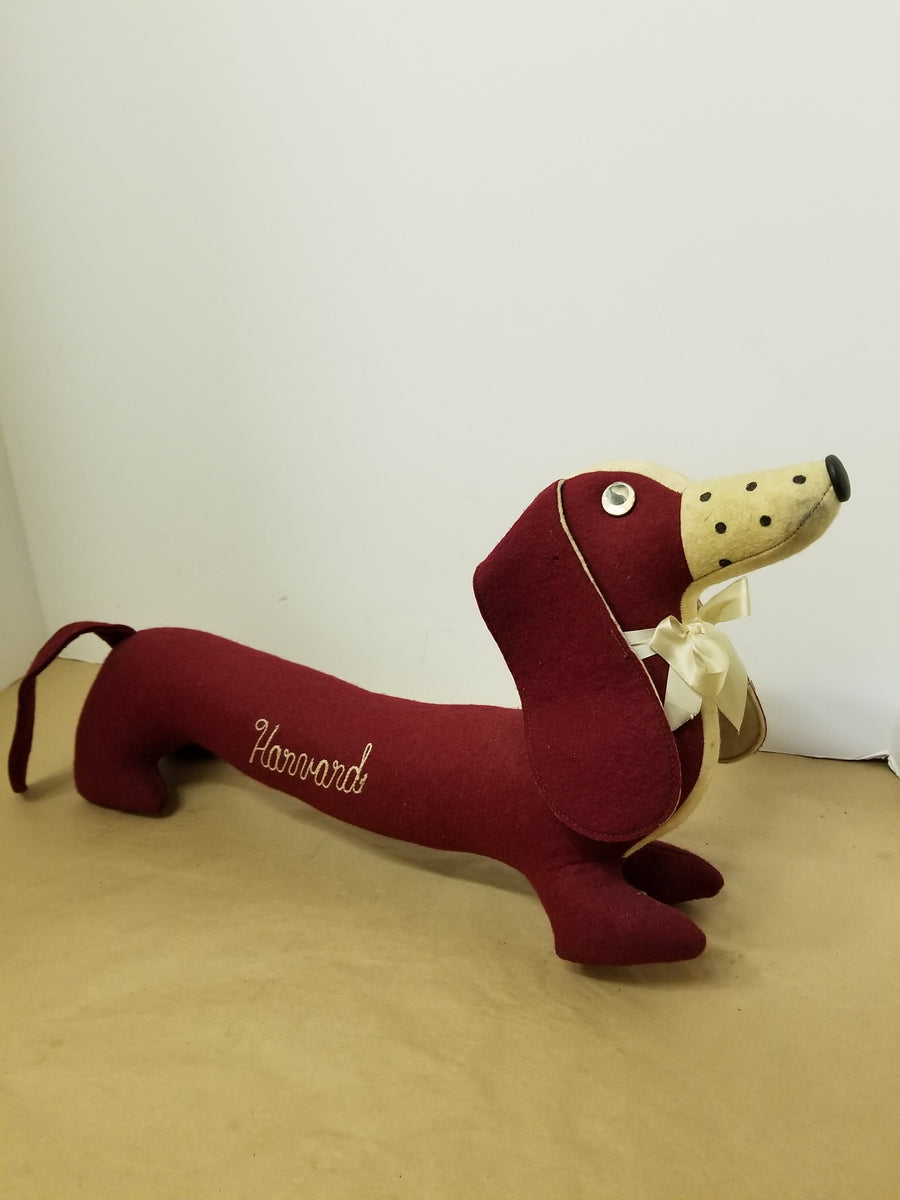 Harvard autograph dachshound, antique