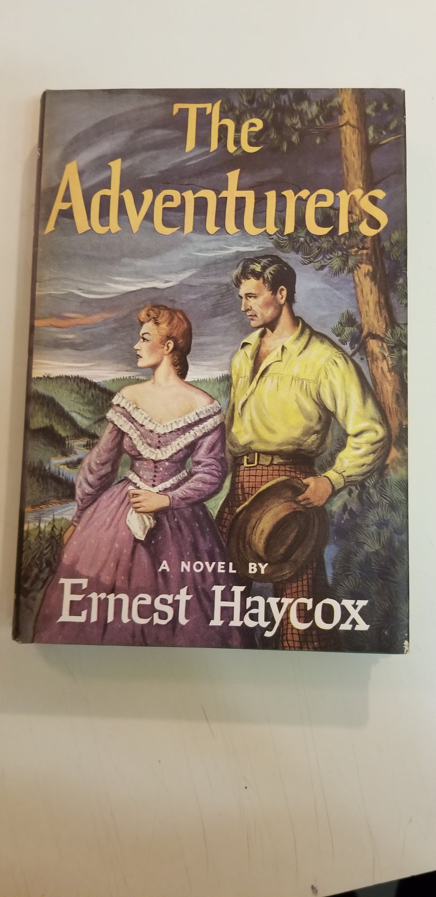 1954, The adventurers, ernest haycox,