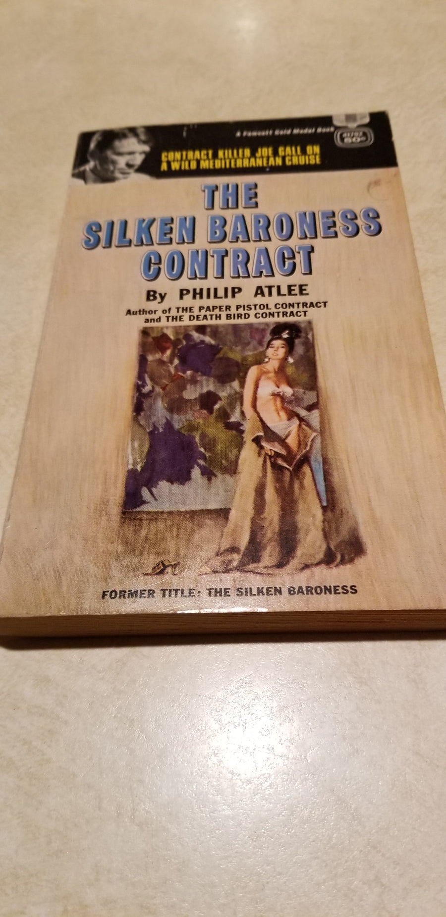 The silken baroness contract, 1964, paperback