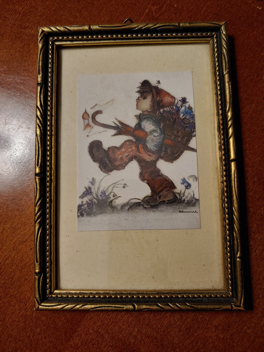 Hummel prints, lot