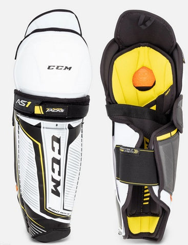 CCM Tacks AS1 Hockey Shin pads Sr.