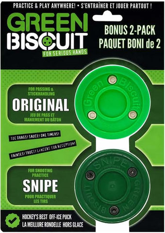 Green Biscuit Bonus 2 Pack Pucks