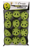 Champion Sports Impact Training Baseballs 12pk