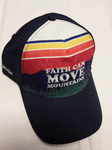Kerusso Faith can move Mountains Navy Blue  Cap