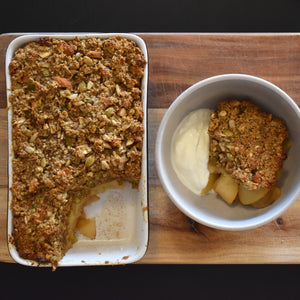 Hemp Apple Crumble