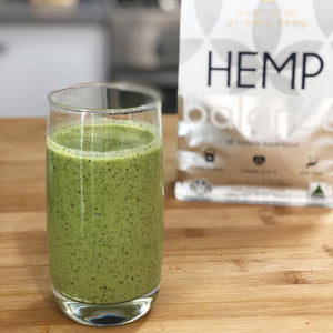 Australian Primary Hemp Green Fibre Smoothie
