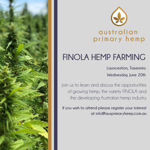Profitable growth for FINOLA Hemp Farming in Tasmania