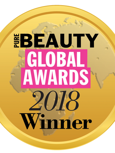 Winner - Pure Beauty Global Awards 2018, Dubai