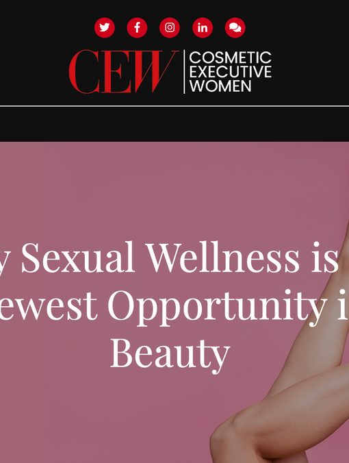 We're thrilled that The Perfect V will be included on this trailblazing CEW panel!