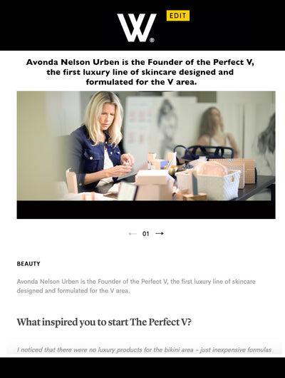 Interview with Founder of The Perfect V on the Wellness Edit