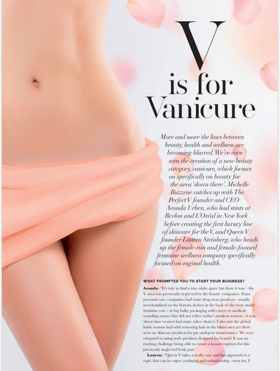 V is for Vanicure