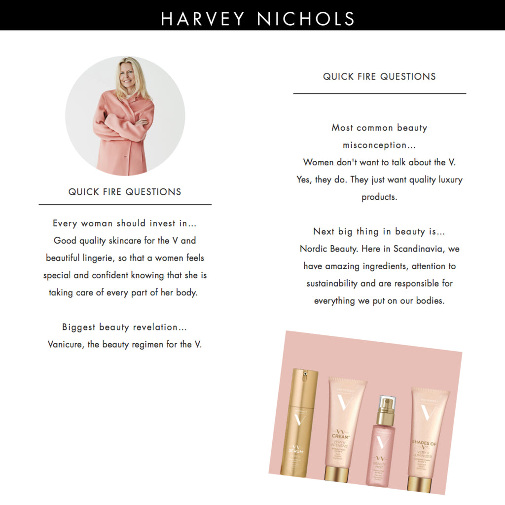 Harvey Nichols UK Interviews Founder