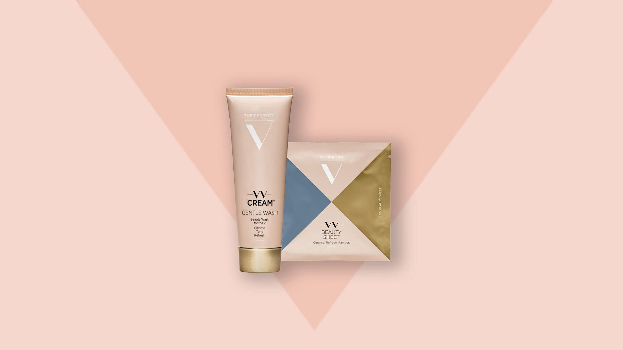 The Perfect V - Gentle Wash / Beauty Sheets