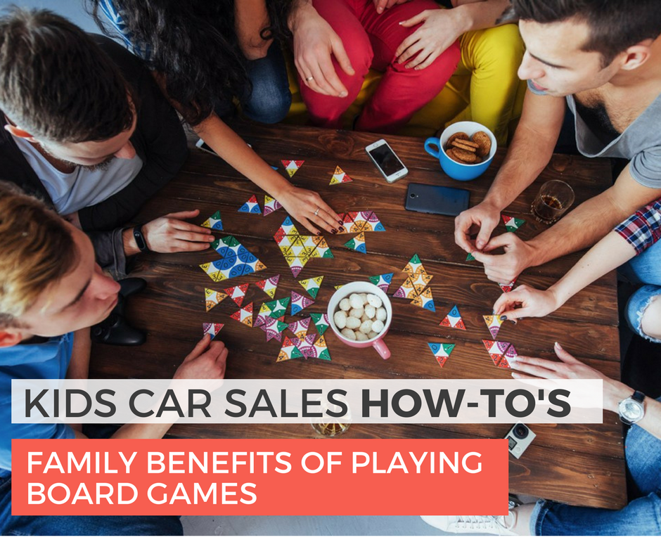Family Benefits Of Playing Board Games