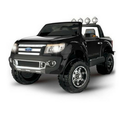 Licenced electric kids cars ford ranger black