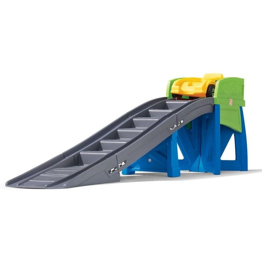step 2 kids plastic roller coaster with roller car