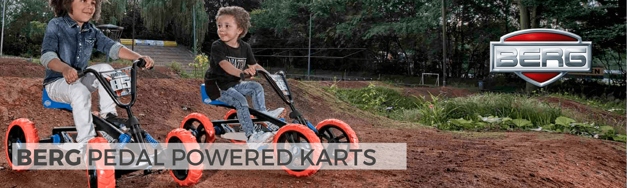 berg kids ride on pedal karts