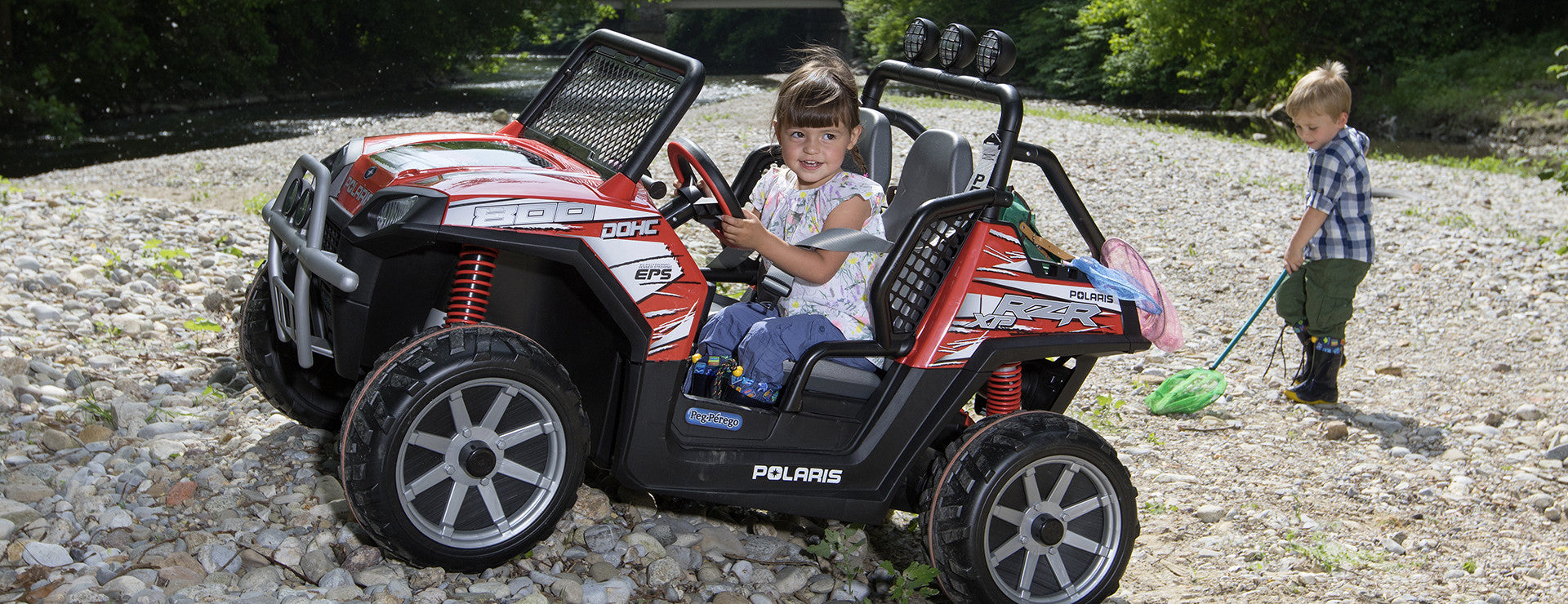 Polaris Ranger RZR Peg Perego Ride On Kids Off Road Car