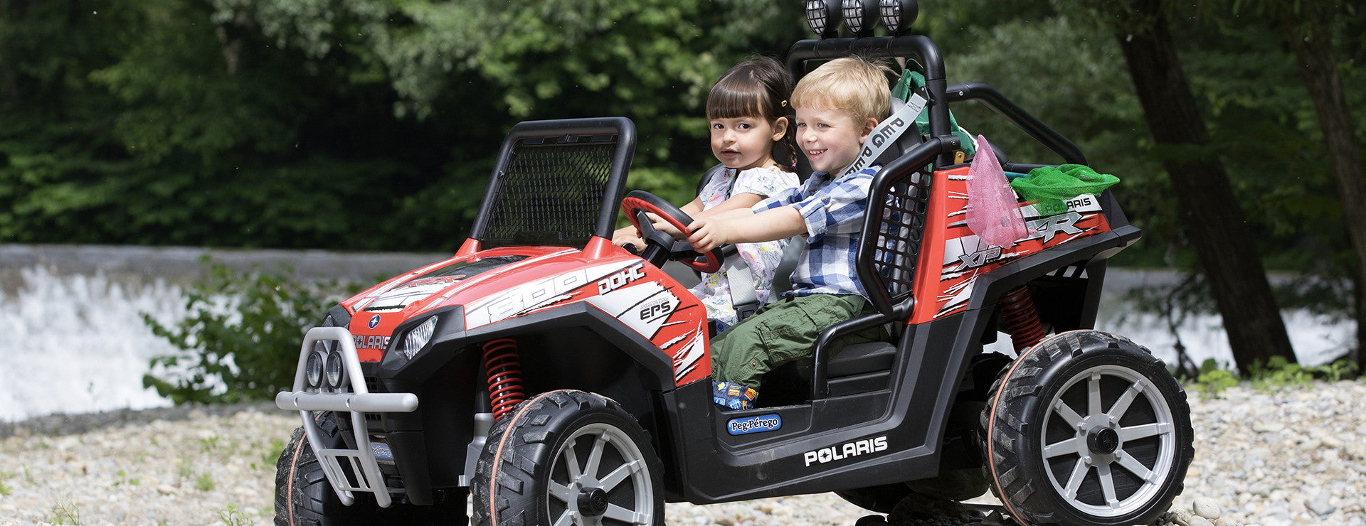 POLARIS RANGER RZR Red Ride On Kids Off Road Car
