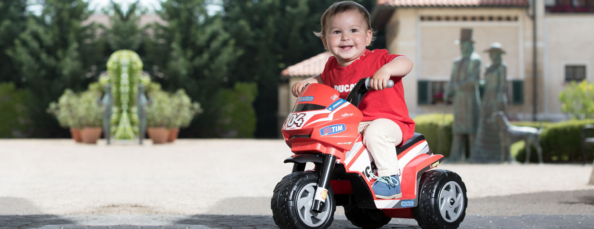 Peg Perego Mini Ducati 6v Electric Ride-on Motorbike