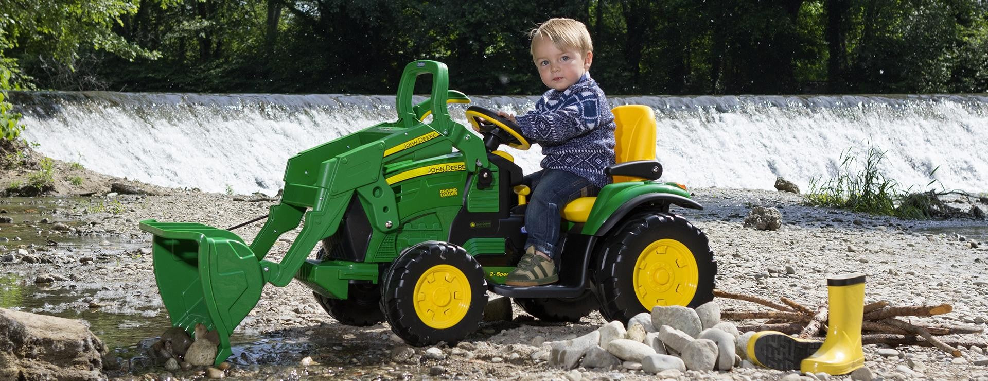 John Deere 12v Ground Loader