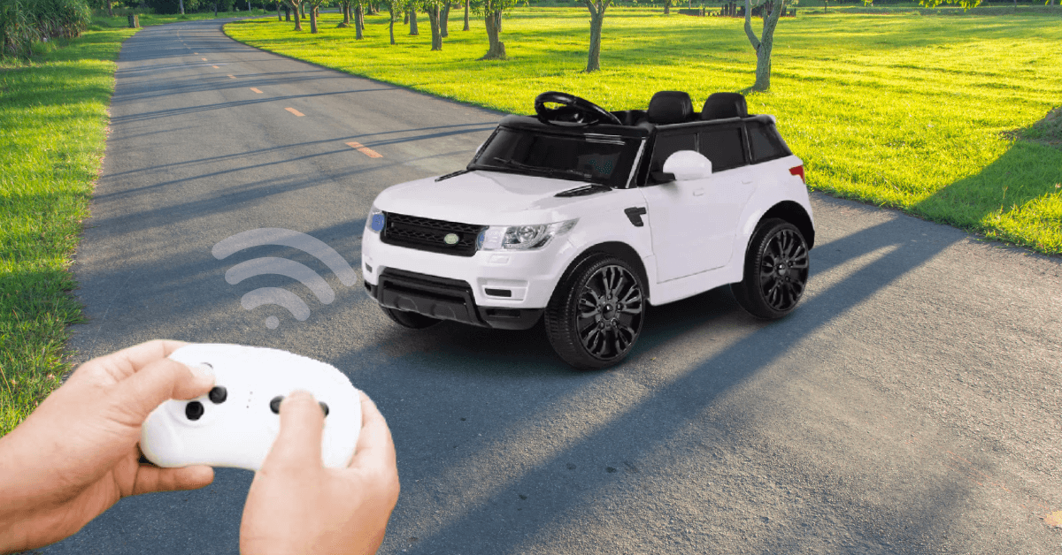 Range Rover Ride On Kids Car with Remote - Kids Car Sales