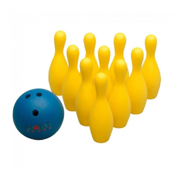 10-Pin Foam Bowling Set with Ball and Zip Carry Bag - Kids Car Sales