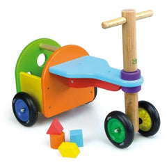 Vilac Rainbow Tricycle & Play Centre