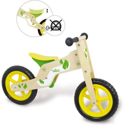 Natural Wooden Balance Bike