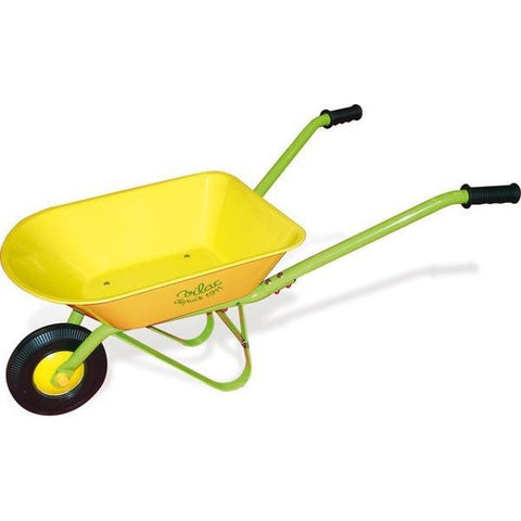 Vilac Yellow Metal Kids Wheelbarrow
