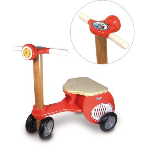 Vilac Red Scooter Tricycle