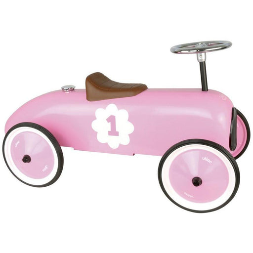 Vilac Classic Vintage Ride On Toy Car Pink