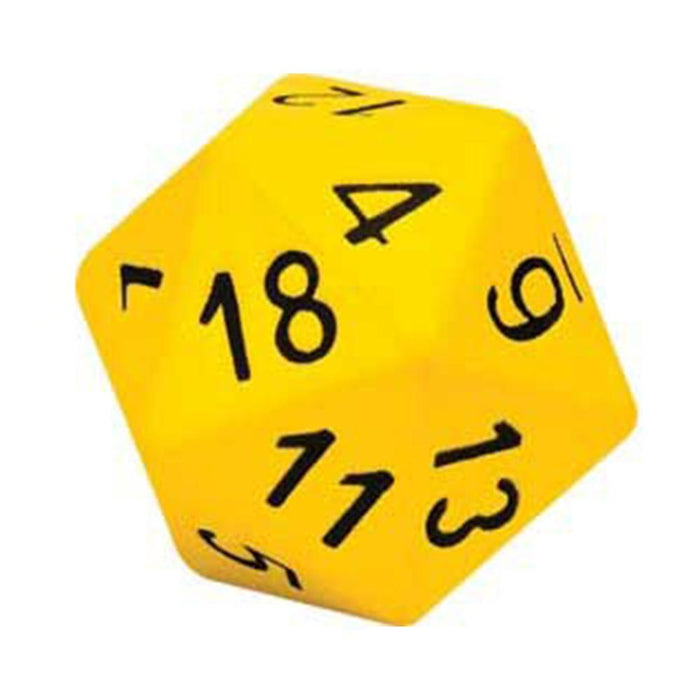15cm Twenty Sided Coated Foam Dice - Kids Car Sales