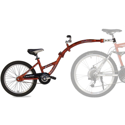 WeeRide Pro Pilot Tag-Along Alloy Childrens Bike Attachment