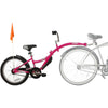 Image of WeeRide Co Pilot Tag-Along Childrens Bike Attachment Pink