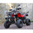 Motoworks Motoworks 150cc Petrol Powered 4-Stroke Farm GY6 Quad Bike - Red MOT-150ATV-FA-RED