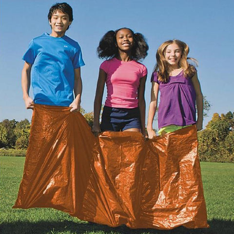 3 Person Hop Sack Race Game for Kids