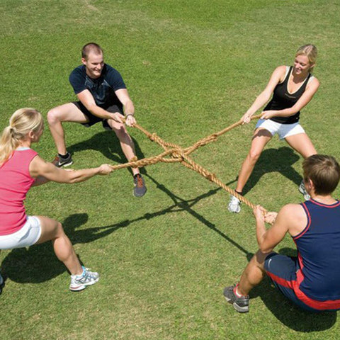 4-Way 4-Person Tug of War Rope Game - Kids Car Sales