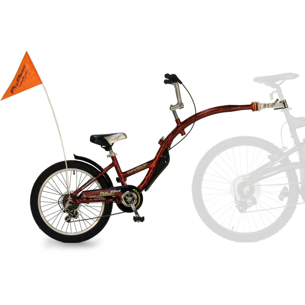 WeeRide Pro Pilot 6 Gear Tag-Along Childrens Bike Attachment