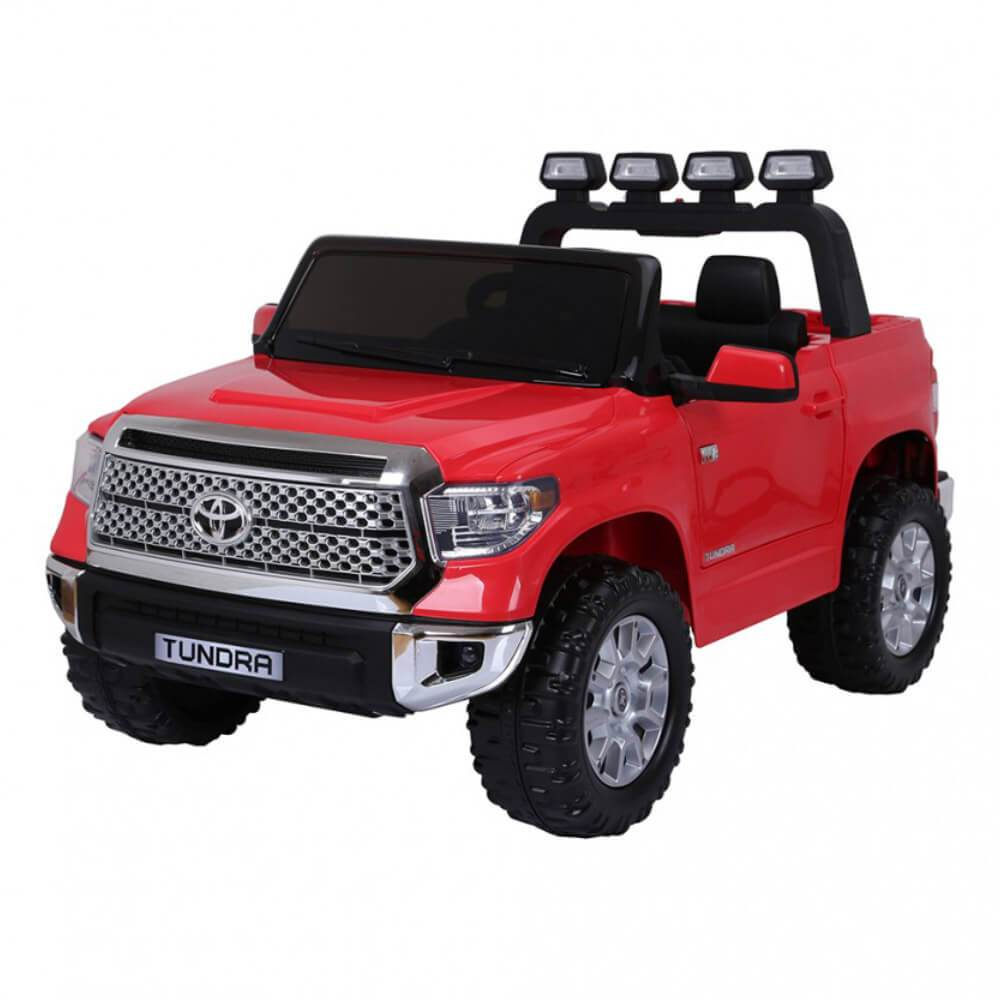 Go SKitz Toyota Tundra 12V Electric Kids Ride On - Red - Kids Car Sales