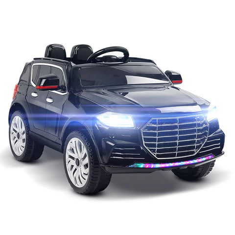 Audi Q7 Inspired Black 12v Ride-On Kids Car - Kids Car Sales