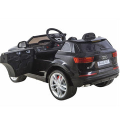 Audi Q7 Licensed Black 12v Ride-On Kids Car