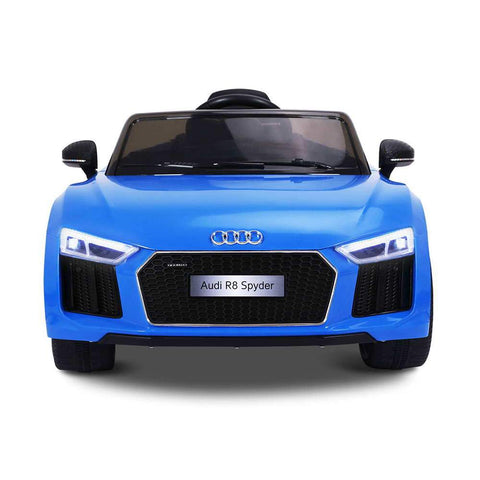 Audi R8 Licensed Blue 12v Ride-On Kids Car - Kids Car Sales