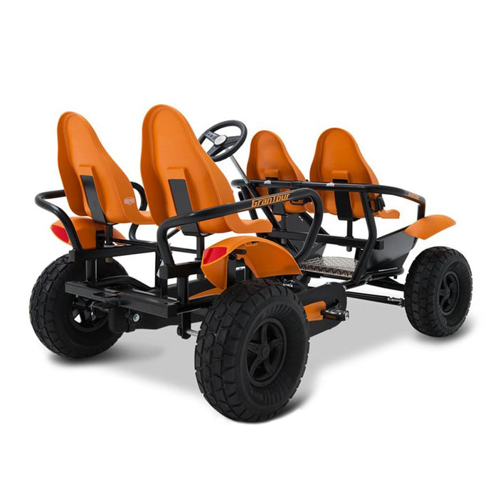 BERG Gran Tour Off-Road 4-Seater Family Ride On Pedal Kart - Kids Car Sales